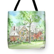 House Portrait Or Rendering Sample Tote Bag