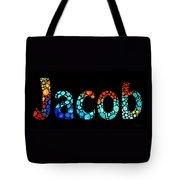 Customized Baby Kids Adults Pets Names - Jacob 3 Name Tote Bag