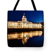 Customs House At Night / Dublin Tote Bag by Barry O Carroll