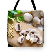 Cut Champignons Tote Bag