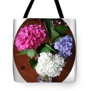 Cut Hydrangeas Tote Bag