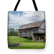 Cut Out Barn Tote Bag