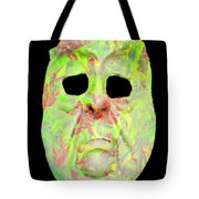 Cut Out Mask Tote Bag