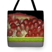 Cut Pomegranate Fruit Tote Bag