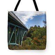 Cut River Bridge 1 C Tote Bag