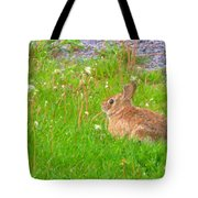 Cute And Fluffy - Digital Painting Effect Tote Bag