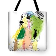 Cute Dog 2 Tote Bag