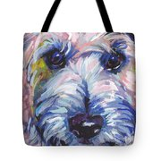 Cutey Face Tote Bag