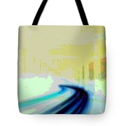 Cutout Art Geographic Focus Tote Bag