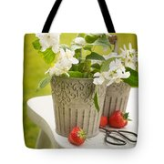 Cutting Orange Blossom Tote Bag
