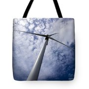 Cutting The Sky Tote Bag