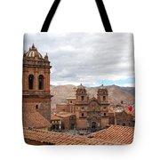 Cuzco Plaza Del Armas Tote Bag