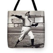 Cy Young - American League Pitching Superstar - 1908 Tote Bag