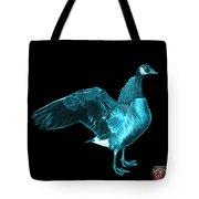 Cyan Canada Goose Pop Art - 7585 - Bb  Tote Bag