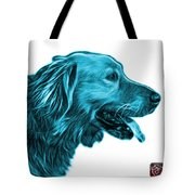 Cyan Golden Retriever - 4047 Fs Tote Bag