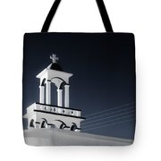 Cyclades Greece - Andros Island Church Tote Bag