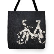 Cycle Lane Tote Bag