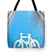 Cycle Path Tote Bag