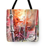 Cycling In Italy 02 Tote Bag