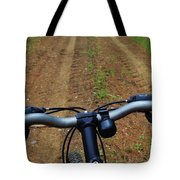 Cycling In The Country Tote Bag