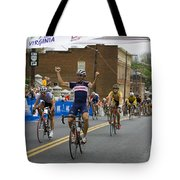 Cycling Stage Win Tote Bag