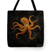 Cycloptopus Black Tote Bag