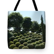 Cypress And Boxwood Garden Tote Bag