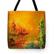 Cypress Gold Tote Bag
