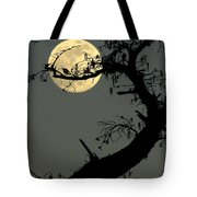 Cypress Moon Tote Bag