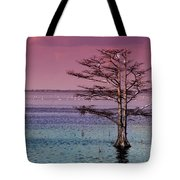 Cypress Purple Sky Tote Bag