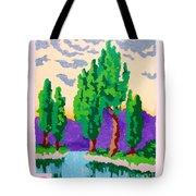 Cypress River Tote Bag