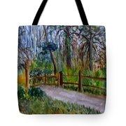 Cypress Trail At Loxahatchee Tote Bag