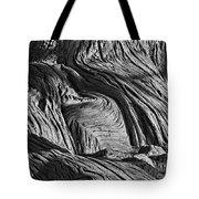 Cypress Tree Abstract Tote Bag
