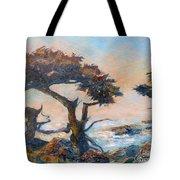 Cypress Tree Coast Tote Bag