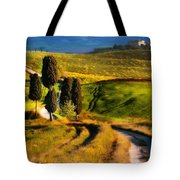 Cypresses Of Toscany Tote Bag
