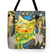 Cyprus And Aphrodite Tote Bag