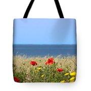 Cyprus Poppies Tote Bag