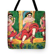 Czardas Dancers, 1908-20 Tote Bag