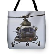 Czech Air Force Mi-171 Hip Helicopter Tote Bag