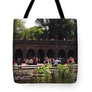 The Arches And The Fountain Tote Bag