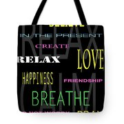 D I Y Anxiety Therapy Tote Bag