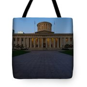 D13l83 Ohio Statehouse Photo Tote Bag