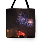 D21l163 Red White And Boom Photo Tote Bag