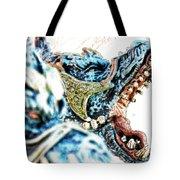 Da Dragon Comic IIacd Tote Bag