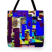 Daas 3 Tote Bag by David Baruch Wolk
