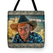 Dad In Cowboy Mood Tote Bag