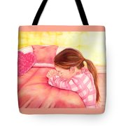 Daddy's Girl Tote Bag by Jeanette Sthamann