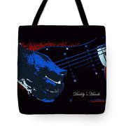 Daddy's Hands Tote Bag