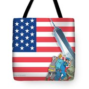Daddys Home 9/11 Tribute Tote Bag
