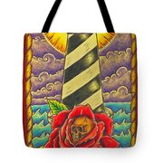 Dad's Lighthouse Tote Bag